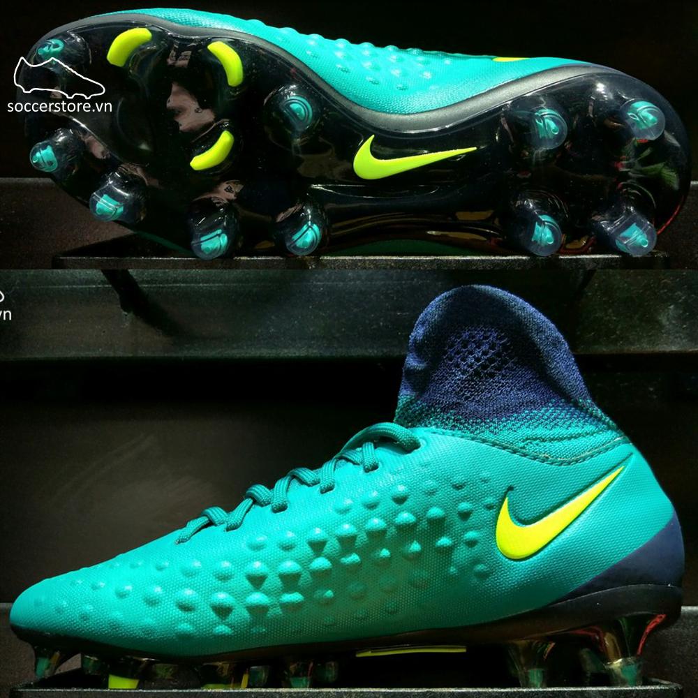 Nike Magista Obra II FG- Black/ White/ Paramount Blue 844595-018