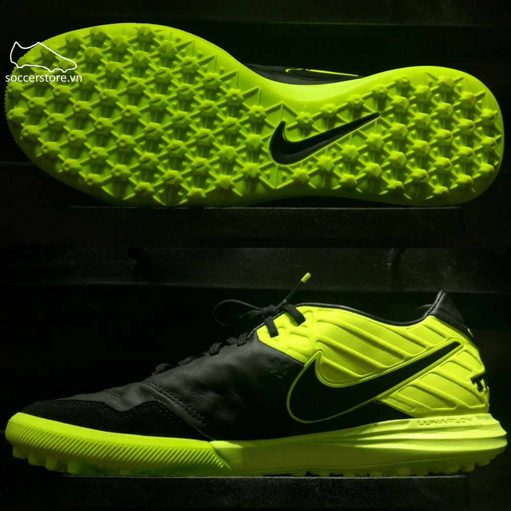 Nike TiempoX Proximo TF- Black/ Volt 843962-070
