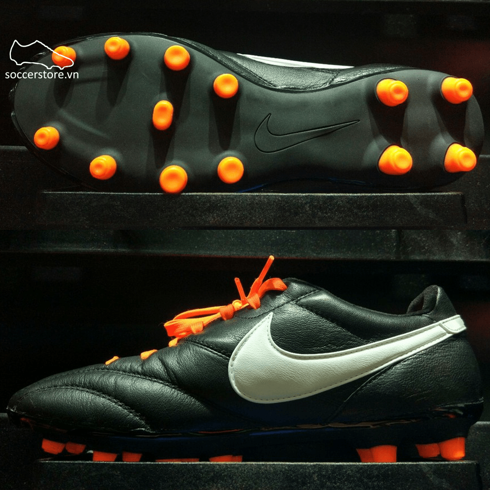 Nike Premier Legend SE FG- Black/ White/ Total Orange 827140-018