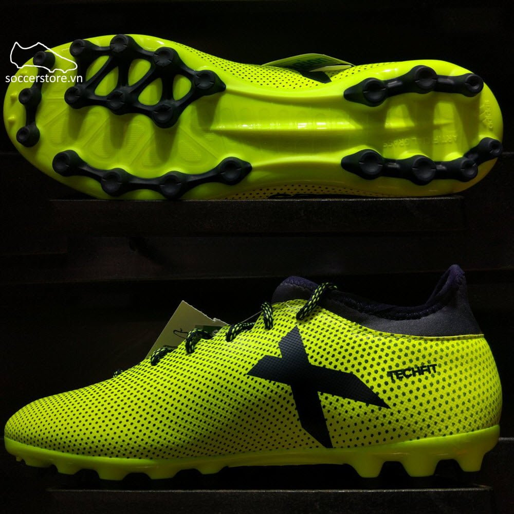 Adidas X 17.3 AG- Solar Yellow/ Legend Ink S82361