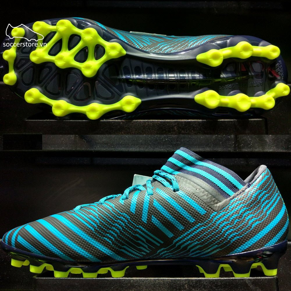 Adidas Nemeziz 17.3 AG- Legend Ink/ Solar Yellow/ Energy Blue S82341