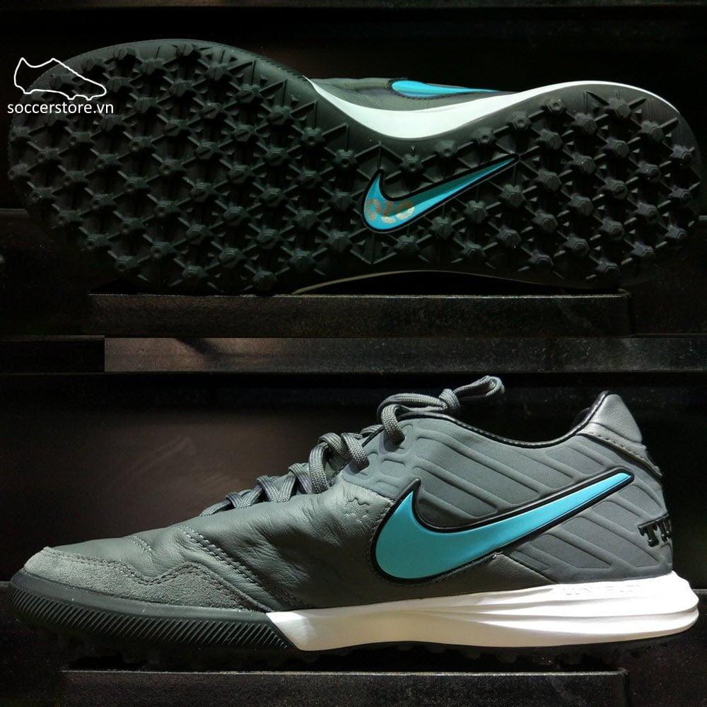 Nike TiempoX Proximo TF- Dark Gray/ Blue/ Bright Bronze 843962-049