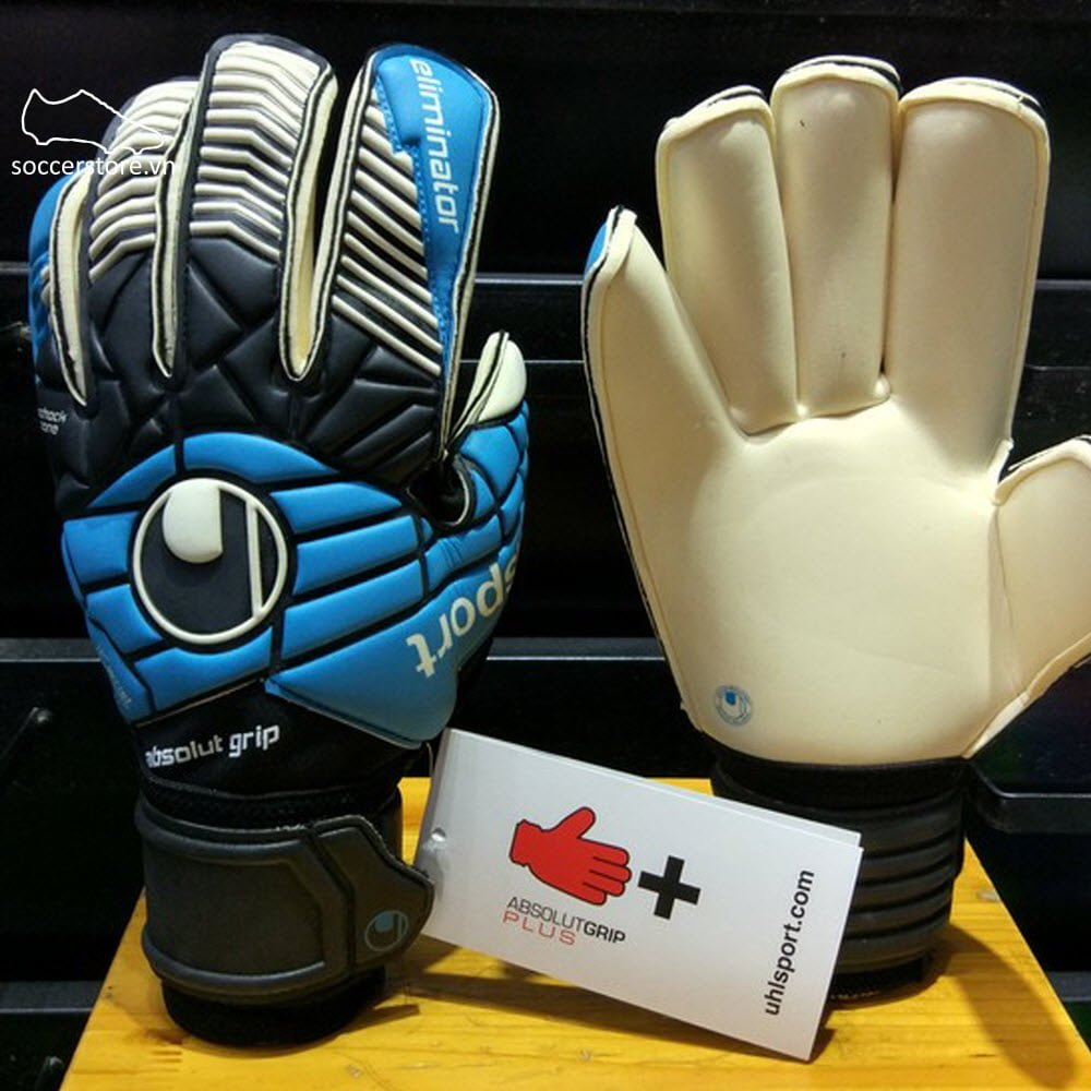 Uhlsport Eliminator Absolutgrip RF- Black/ Cyan/ White 1000162-01