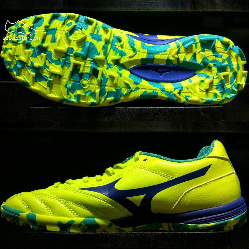 Mizuno Monarcida TF- Solar Yellow/ Solar Green Q1GB171127