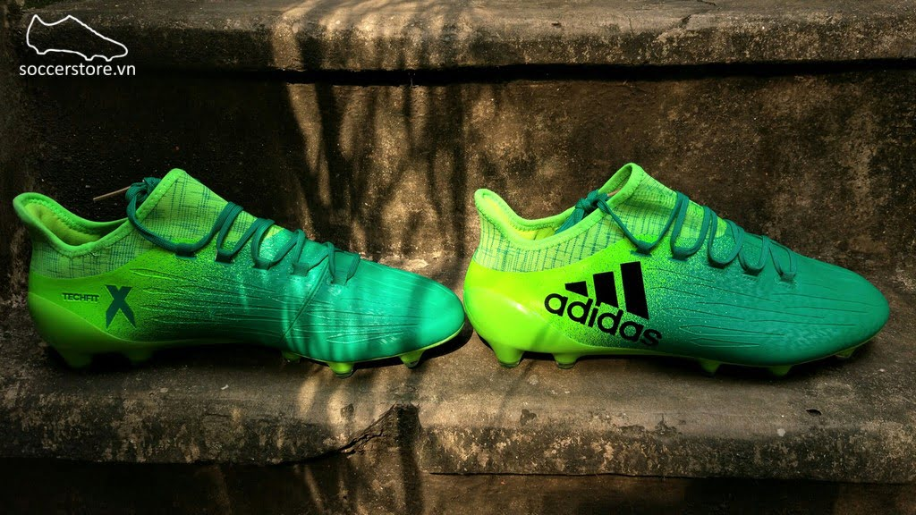 Adidas X 16.1 FG/AG- Solar Green/ Core Black/ Solar Green BB5839