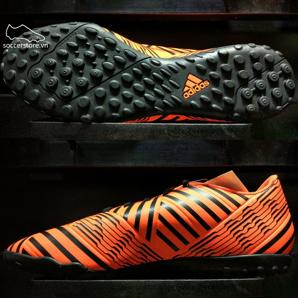 Adidas Nemeziz 17.4 TF- Solar Orange/ Core Black S76979