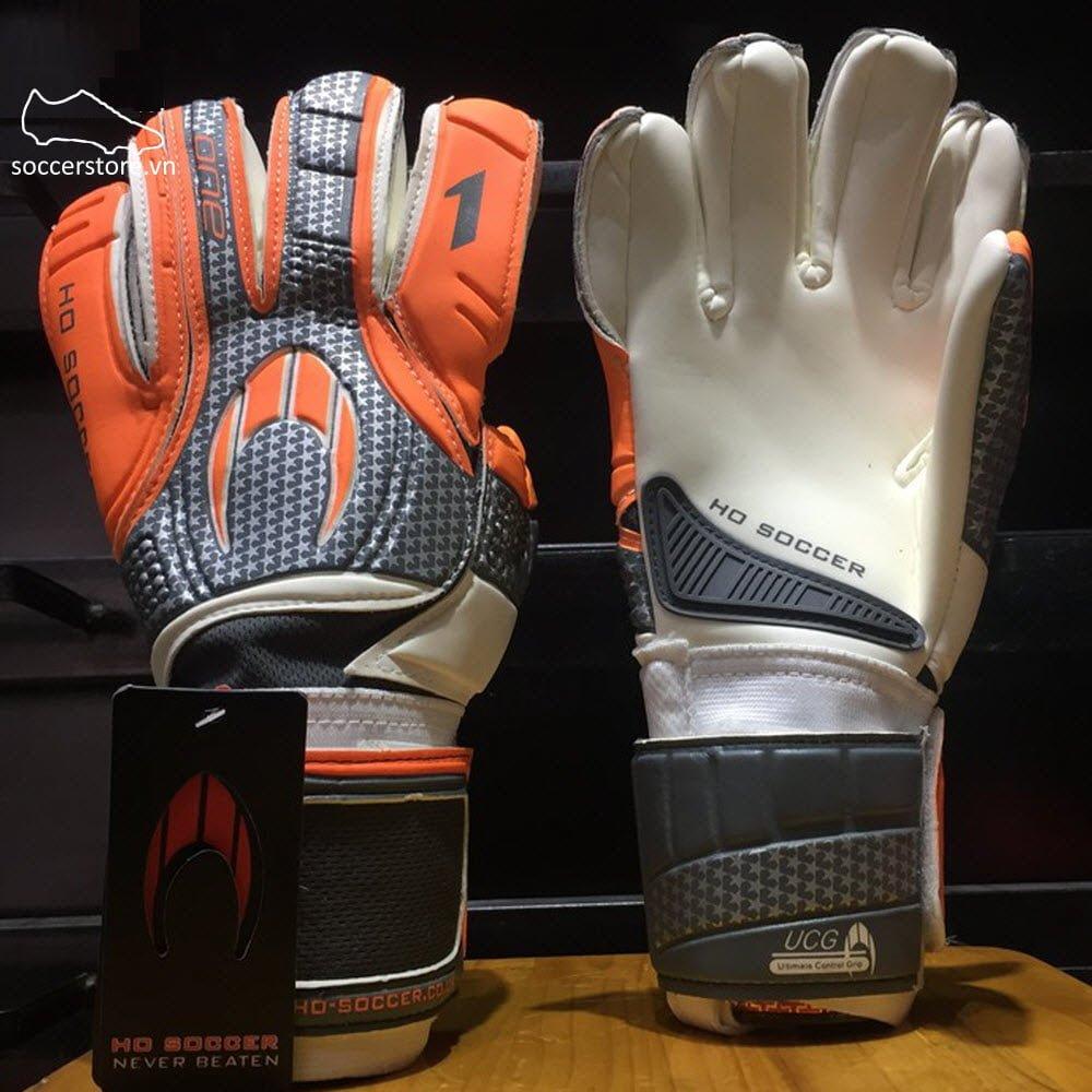 HO One Negative- Orange/ White/ Grey GK Gloves 51.0522