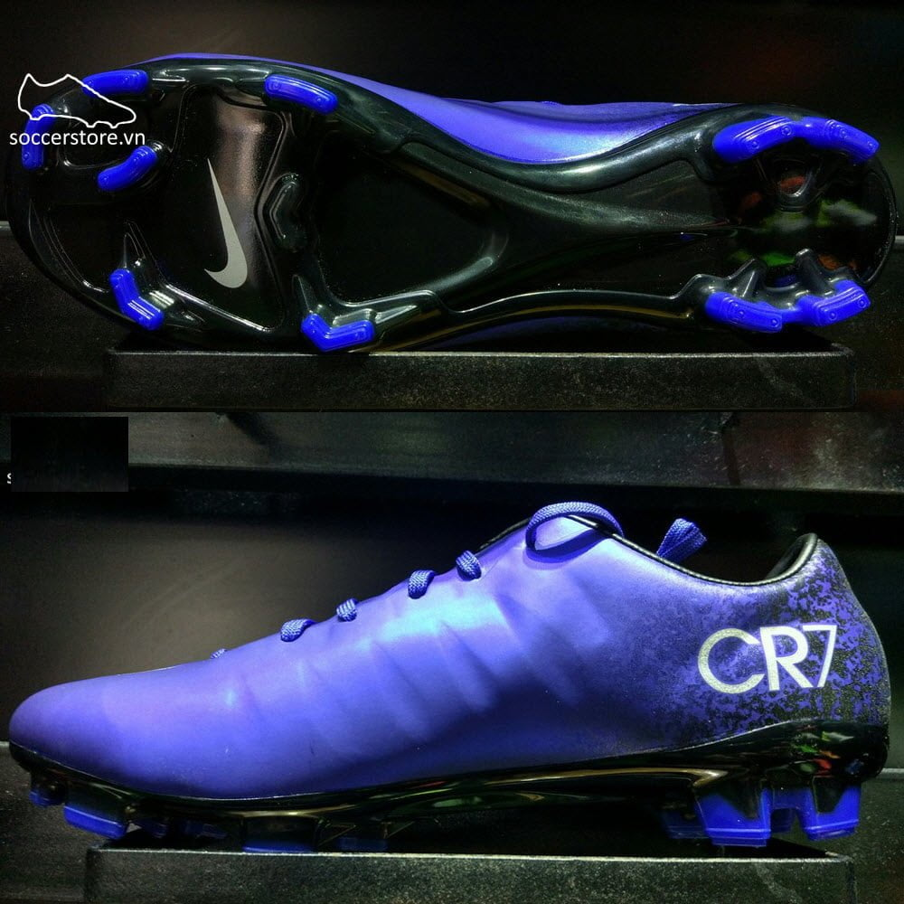 2daf9fc8903 Nike Mercurial Veloce II CR FG - Deep Royal Blue  Metallic Silver  Racer  Blue 684863-404
