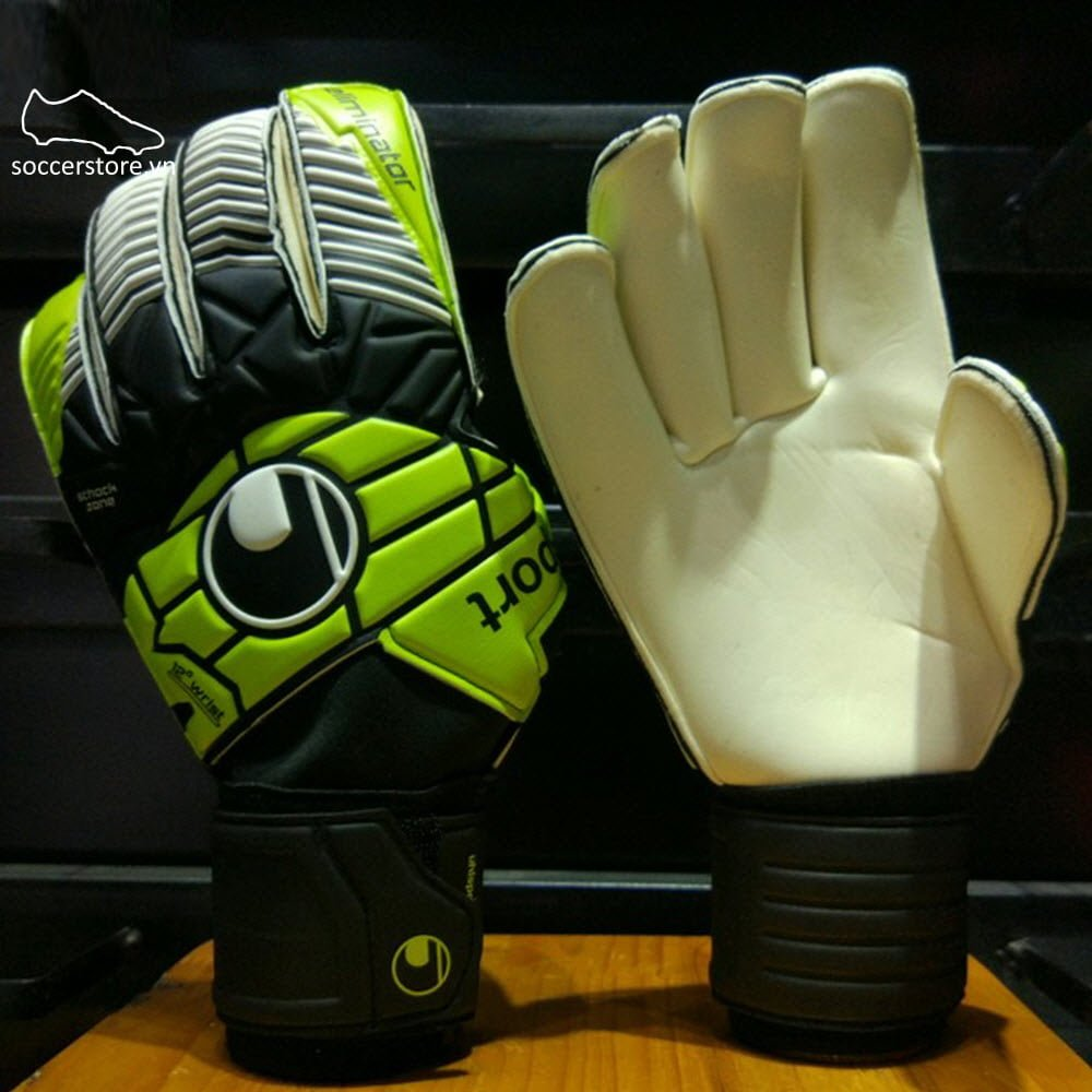 Uhlsport Eliminator Soft RF- Black/ Lime Green/ White 1000179-01