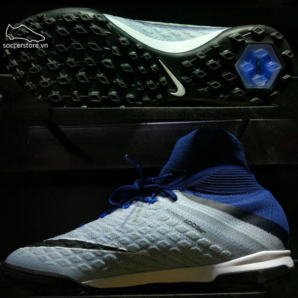 Nike HypervenomX Proximo II DF TF- Brave Blue/ Black/ Photo Blue 852576-404