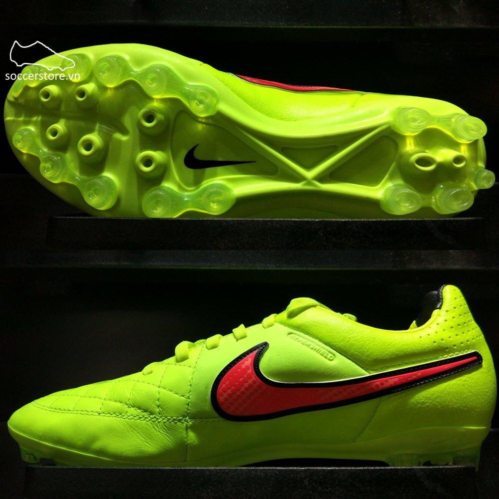 Nike Tiempo Legacy AG- Volt Hyper Punch Black 631615-770