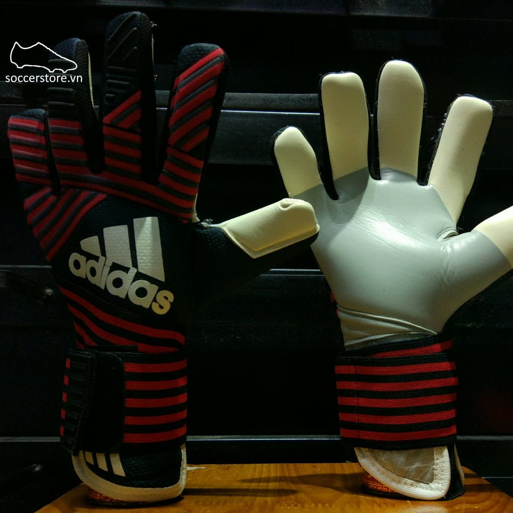 Adidas Ace Transition Pro Manuel Neuer- Black/ True Red GK Gloves BS1550