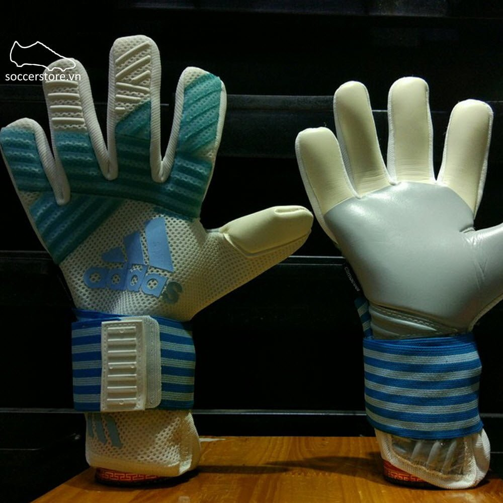Adidas Ace Transition Super- Icy Blue/ Mystery Petrol/ White GK Gloves BS4105