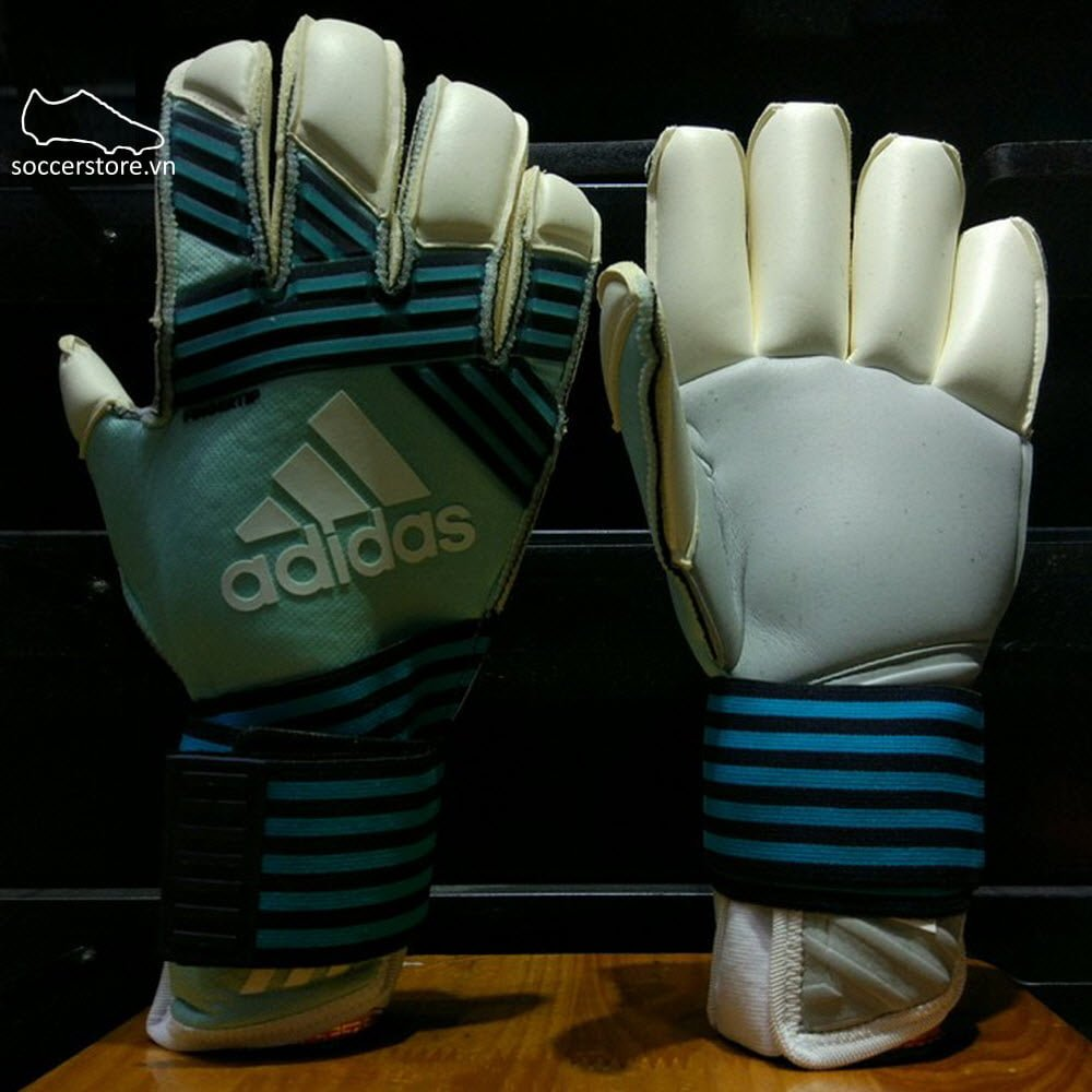 Adidas Ace Transition Fingertip- Energy Aqua/ Energy Blue/ Legend Ink/ White GK Gloves BS4124