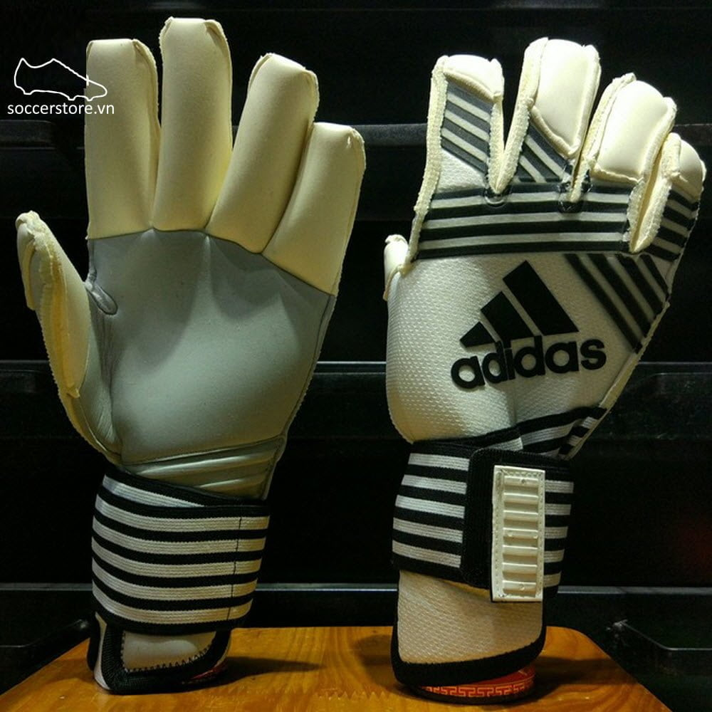 Adidas Ace Transition Fingertip Promo- Clear Onix/ Core Black/ White GK Gloves BP7931