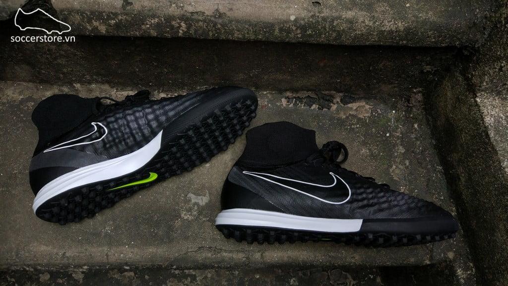 Nike MagistaX Proximo II DF TF- Dark Grey/ Black/ Volt 843958-007
