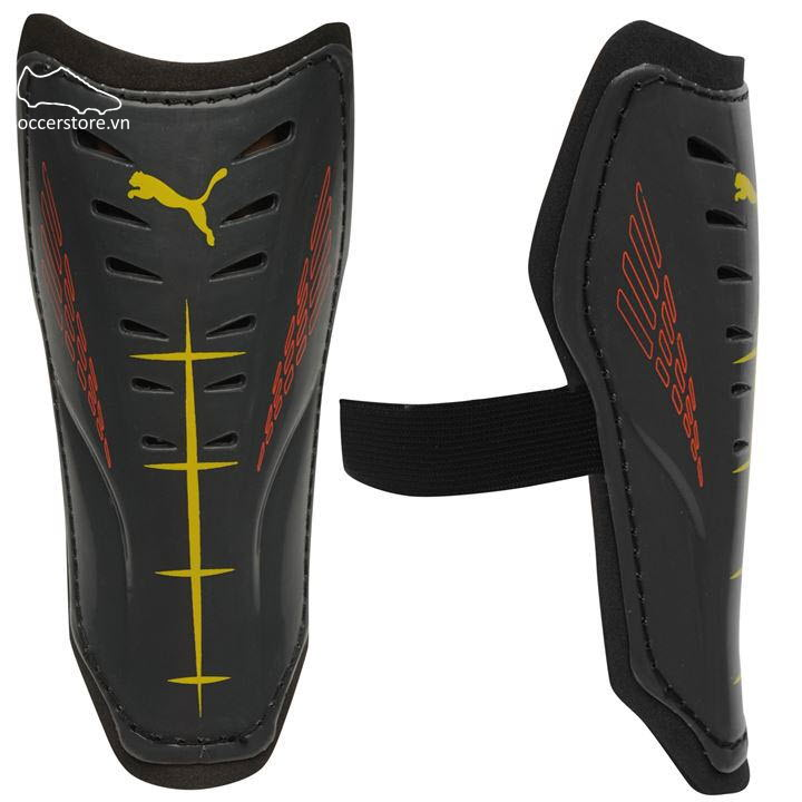 Lót ống đồng Puma Power Force 6.11 Shinguards- Black/ Yellow