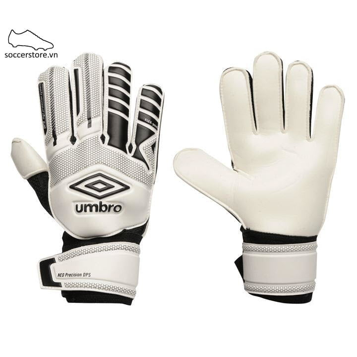 Umbro Neo Precision GK Gloves- White/ Black 839003-01