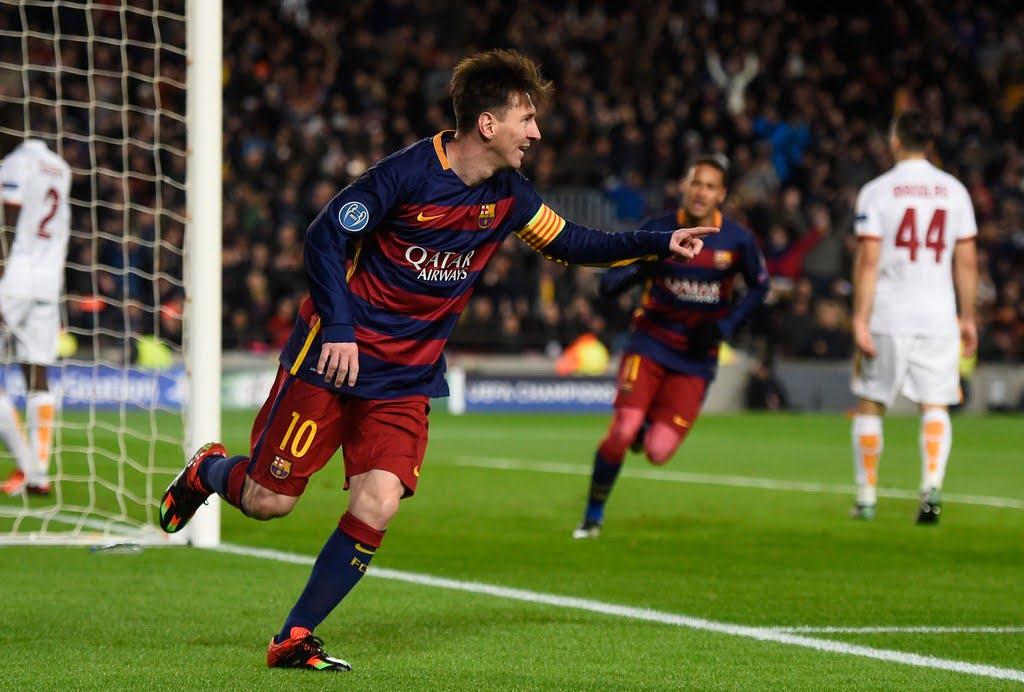 Messi sử dụng giày Adidas Messi 15.1 FG/AG