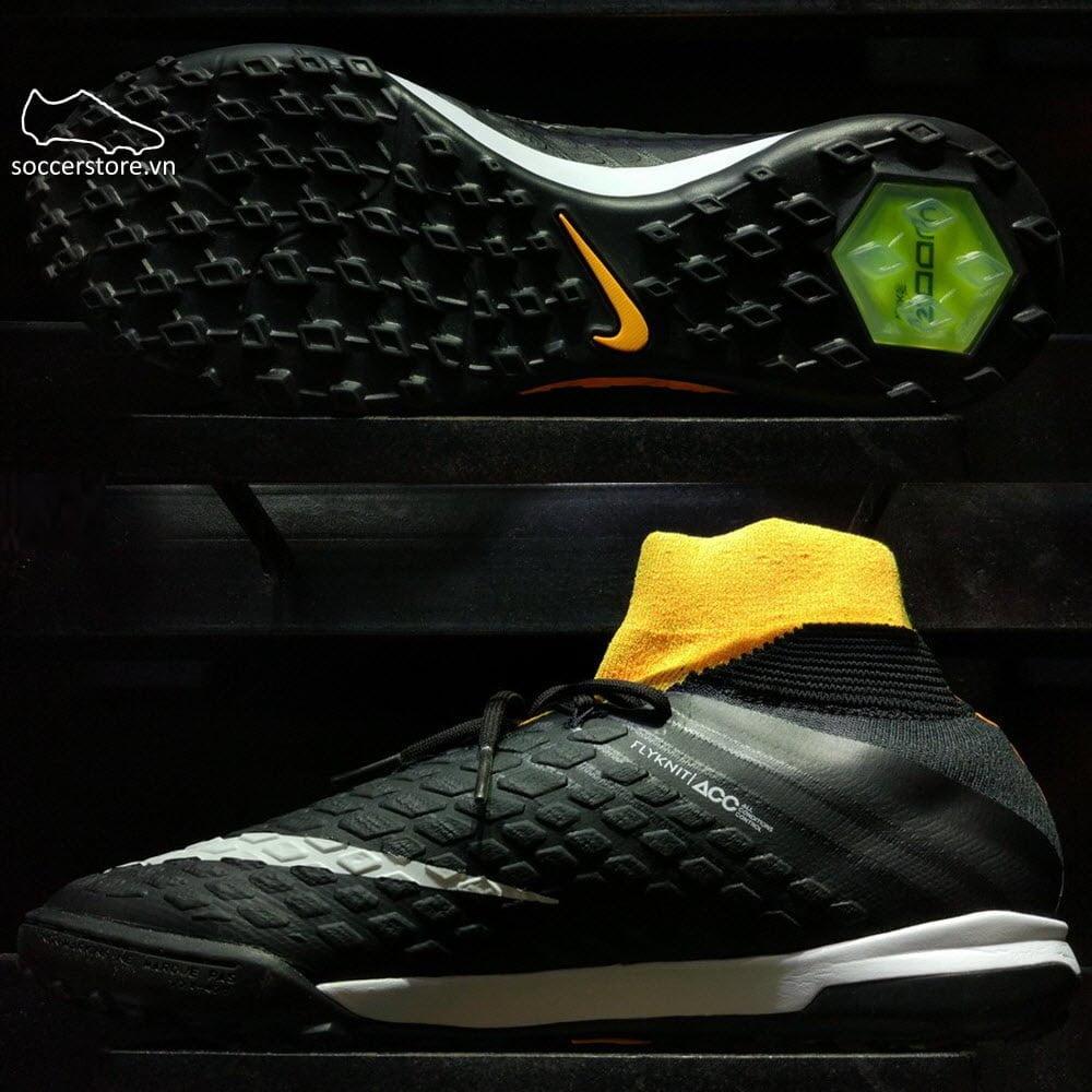 Nike HypervenomX Proximo II DF TF - Laser Orange/ Black/ Volt 852576-801