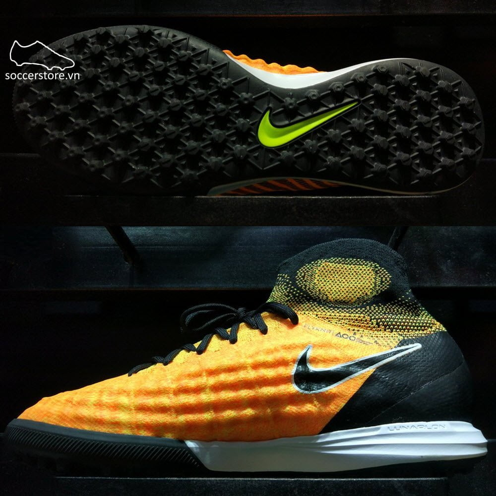 Nike MagistaX Proximo II DF TF- Laser Orange/ Black/ Volt 843958-801