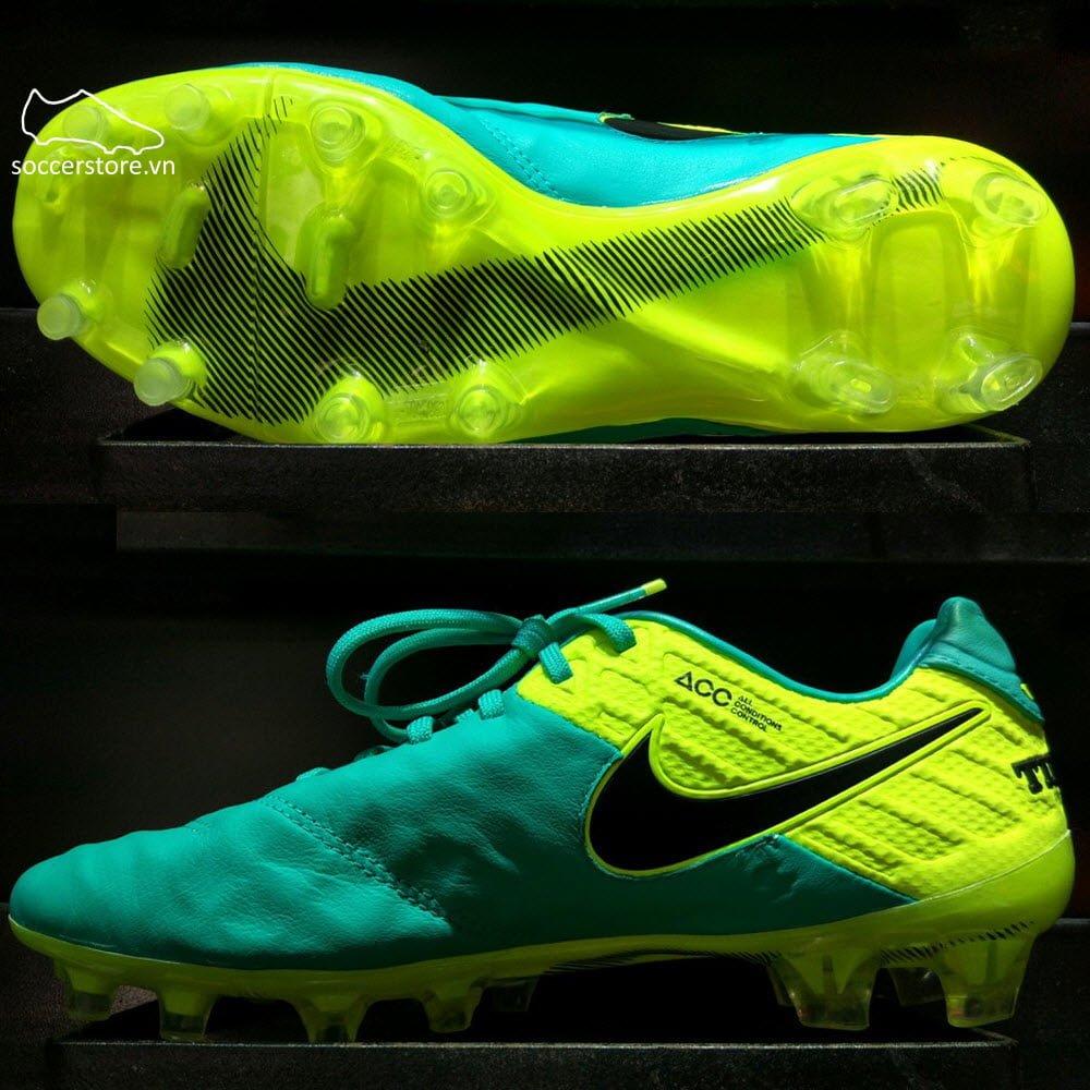 Nike Tiempo Legend VI FG - Clear Jade / Black/ Volt 819177-307