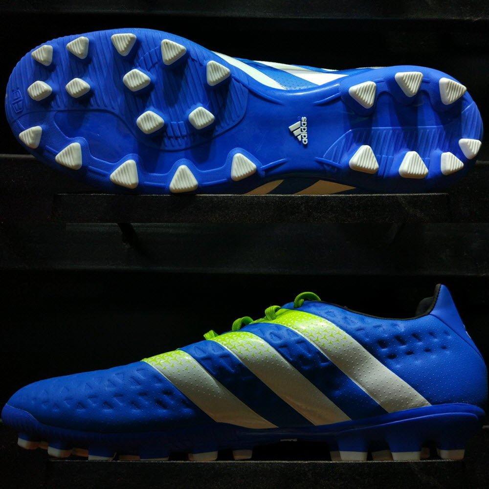 Adidas Ace 16.3 AG Shock Blue/Semi Solar Slime/White S78484
