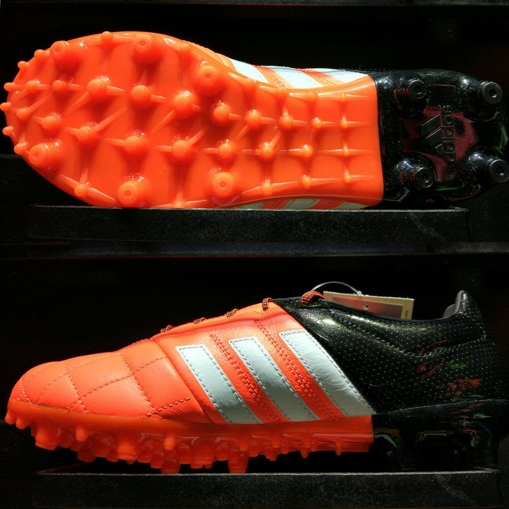 Adidas Ace 15.3 FG/AG Leather- Solar Orange/ White/ Core Black B32812