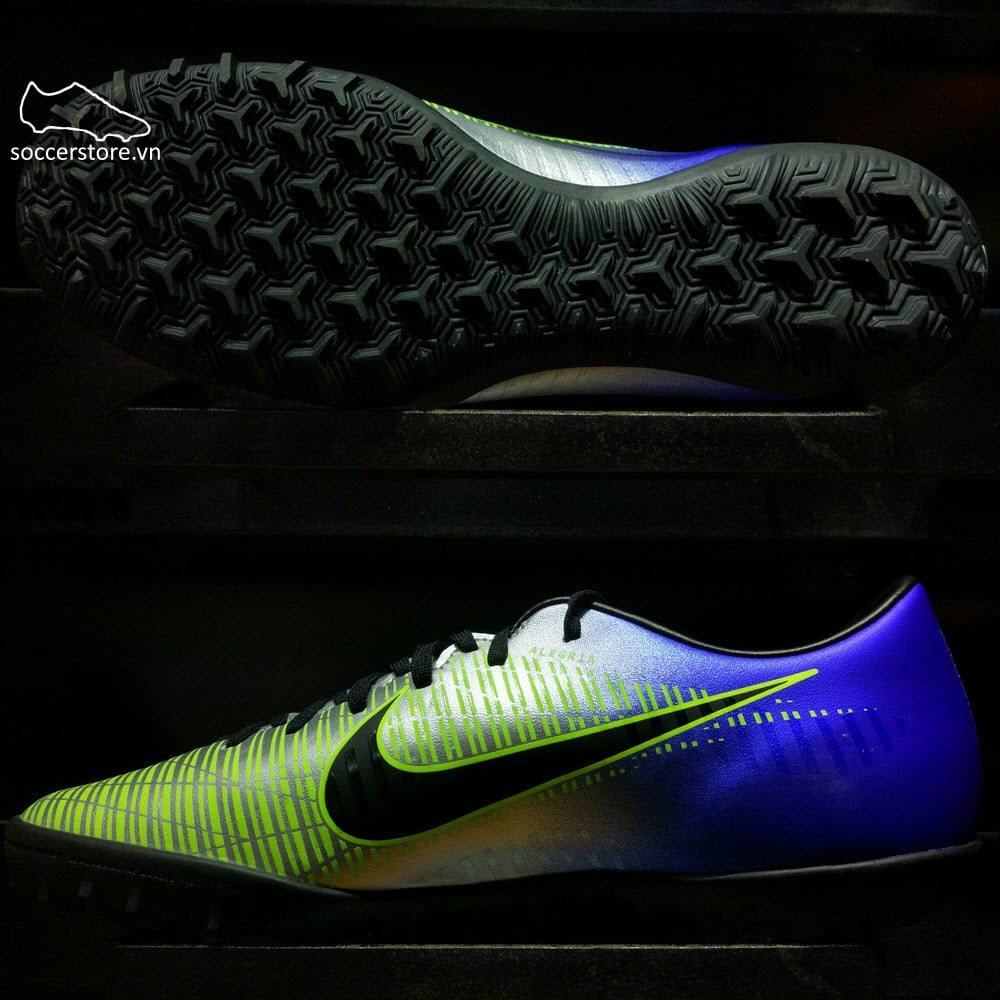 Nike Mercurial Victory VI Neymar TF- Racer Blue/ Black/ Chrome/ Volt 921517-407