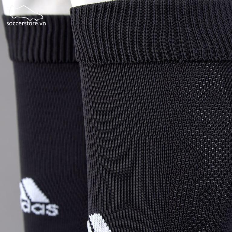 Tất Adidas Santos 3-stripe- Black/ White Z56221