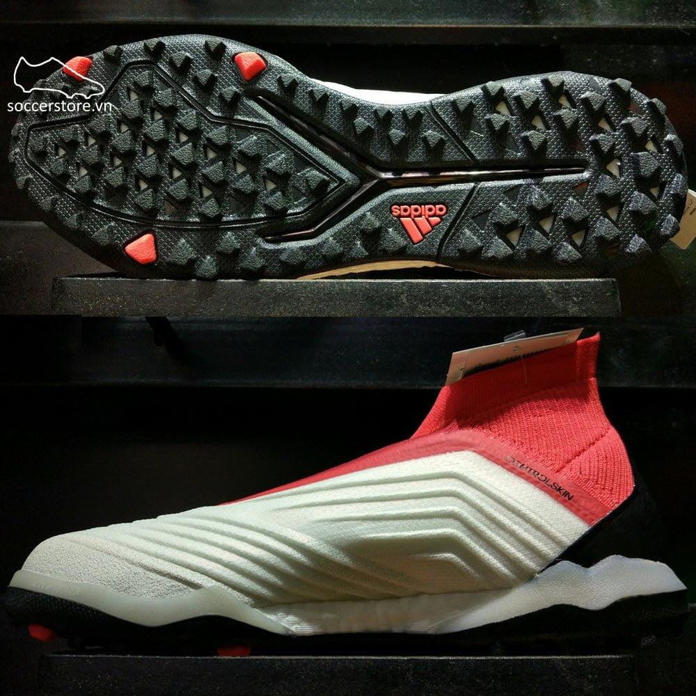 Adidas Predator Tango 18+ TF- White/ Core Black/ Real Coral CM7674