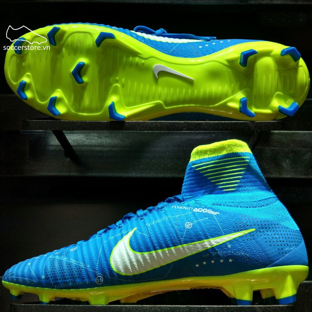 Nike Mercurial Superfly Neymar FG Kids- Blue Orbit/ White/ Armory Navy 921483-400