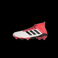 Adidas Predator 18.1 FG- White/ Core Black/ Real Coral CM7410