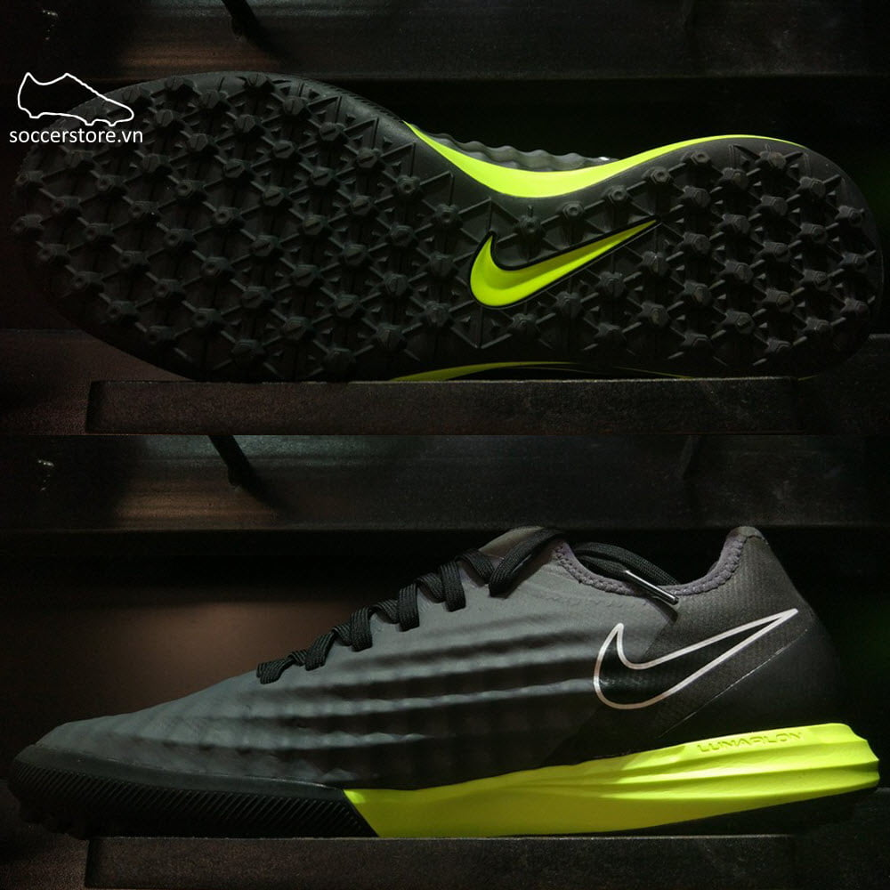 Nike MagistaX Finale II TF-Dark Grey/ Black/ Volt 844446-001