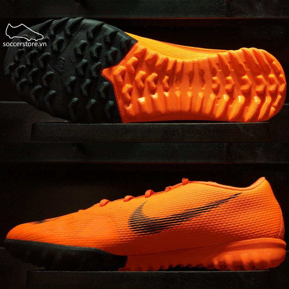Nike Mercurial VaporX XII Academy TF- Total Orange/ Black/ Volt AH7384-810