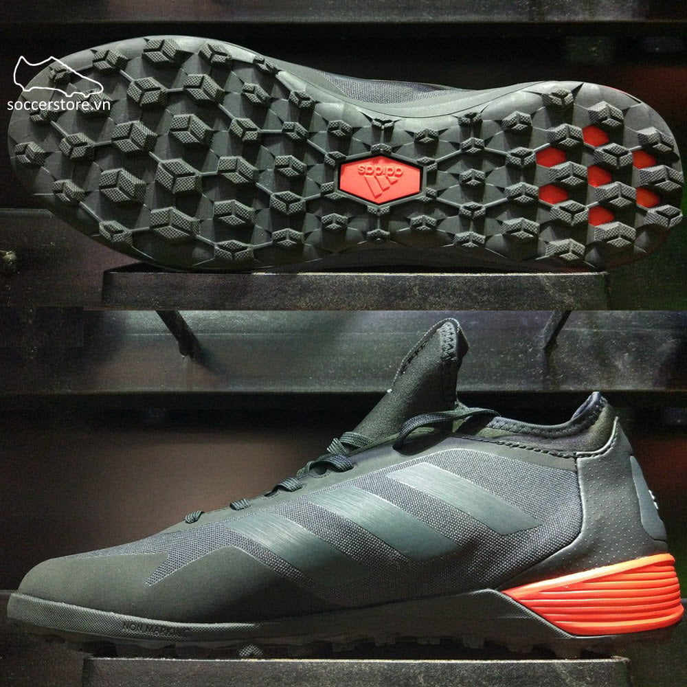 Adidas Ace Tango 17.2 TF- Core Black/ Dark Grey/ Red BA8539