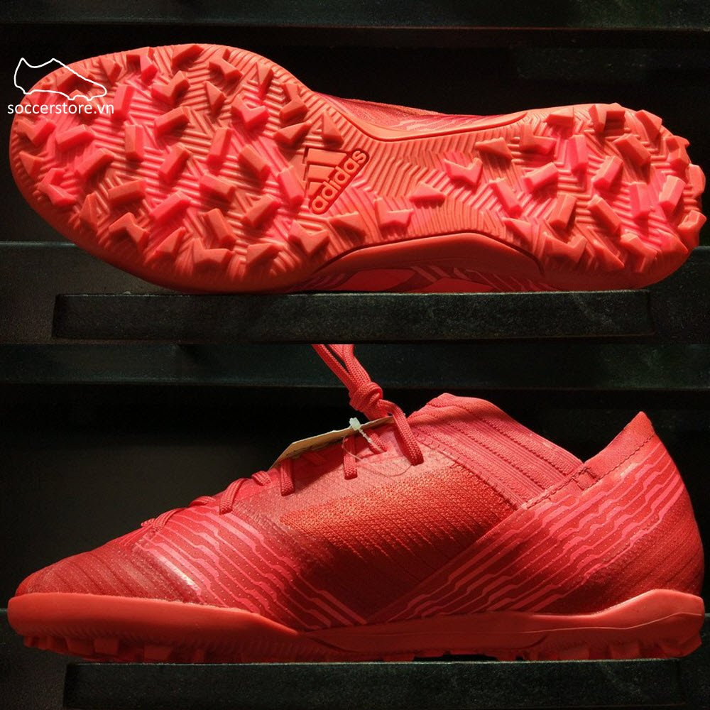 Adidas Nemeziz Tango 17.3 TF- Real Coral/ Red Zest/ Core Black CP9100
