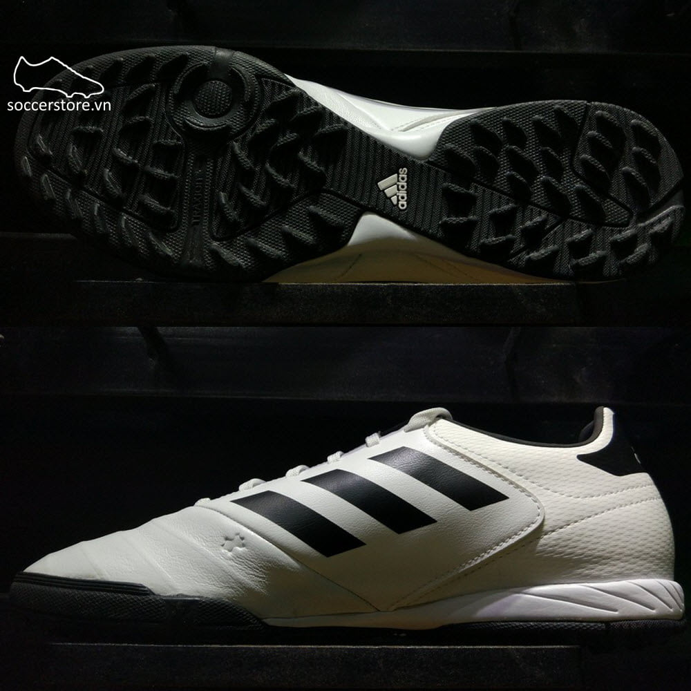 Adidas Copa 18.3 Tango TF- White/ Core Black/ Tactile Gold Metallic CP9021