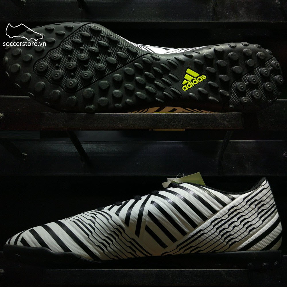 Adidas Nemeziz 17.4 TF- White/ Solar Yellow/ Core Black S82476