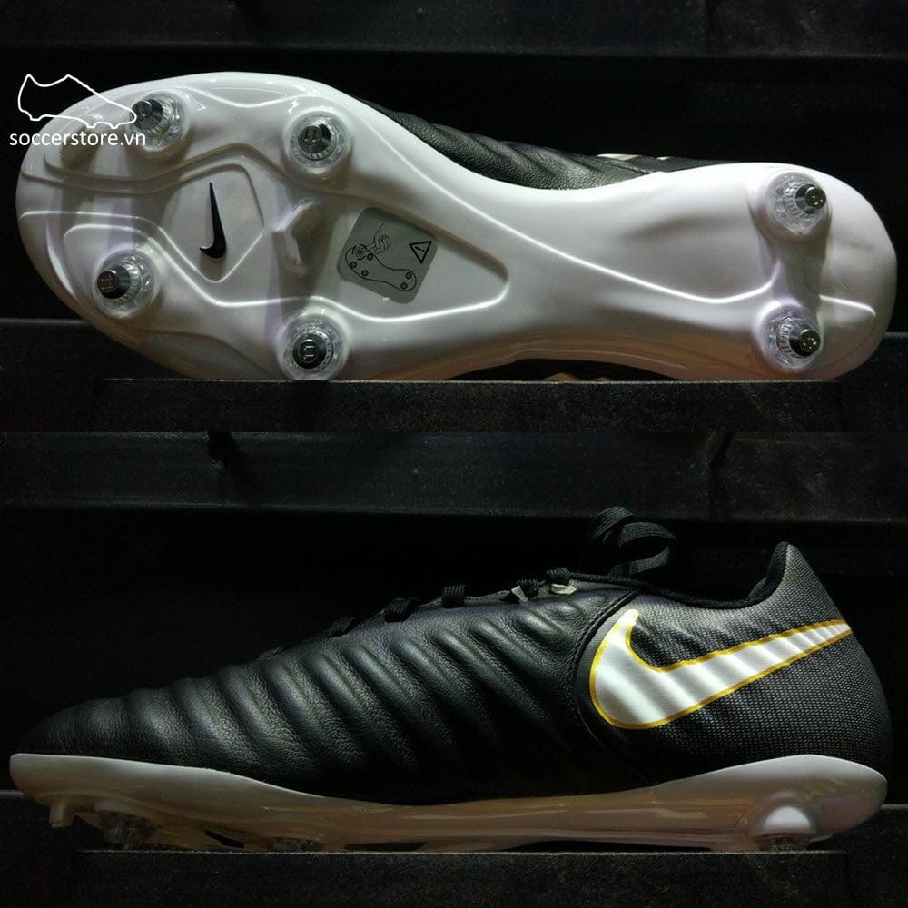 Nike Tiempo Ligera IV SG- Black/ White/ Black 897745-002