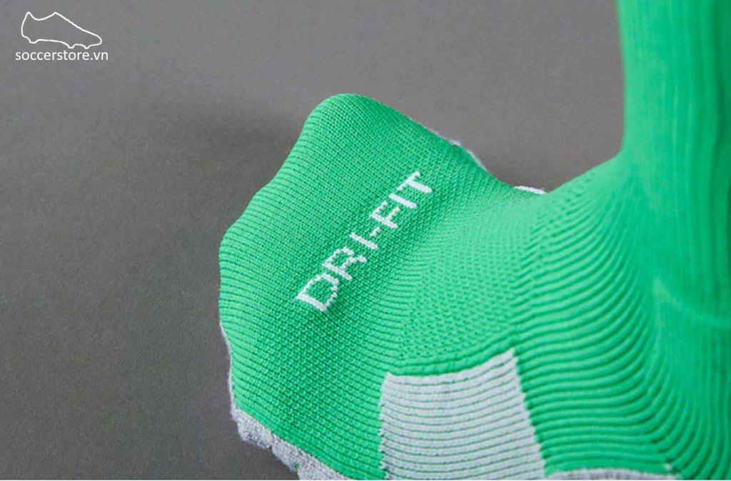 Tất Nike Team Stadium II OTC- Hyper Verde/ Lucid Green/ White 803326-330