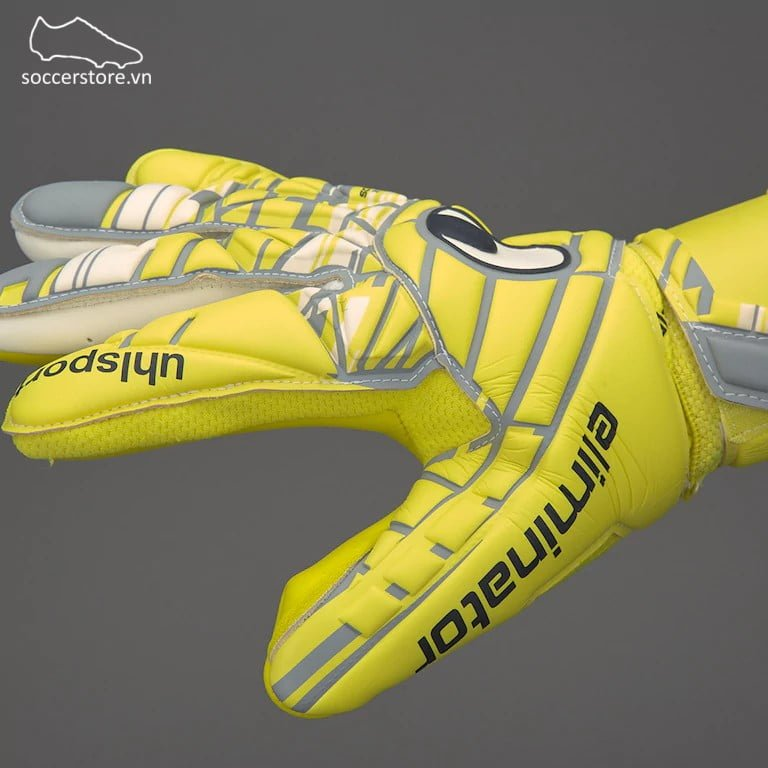 Uhlsport Eliminator Absolutgrip HN- Flou Yellow/ Griffin Grey/ White 1011011-01