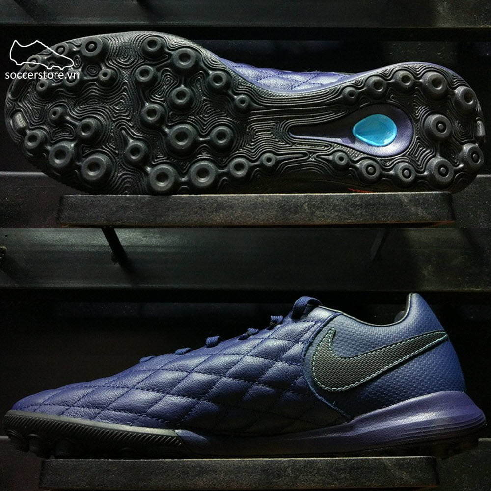 Nike TiempoX Finale Ronaldinho10 TF- Midnight Navy/ Black AQ3822-440