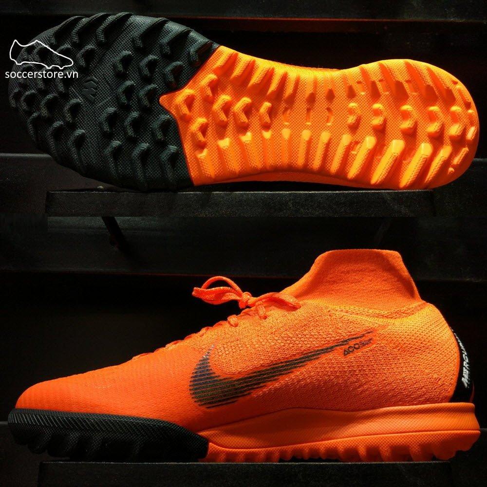 Nike Mercurial SuperflyX VI Elite- Total Orange/ Black/ Volt AH7374-810