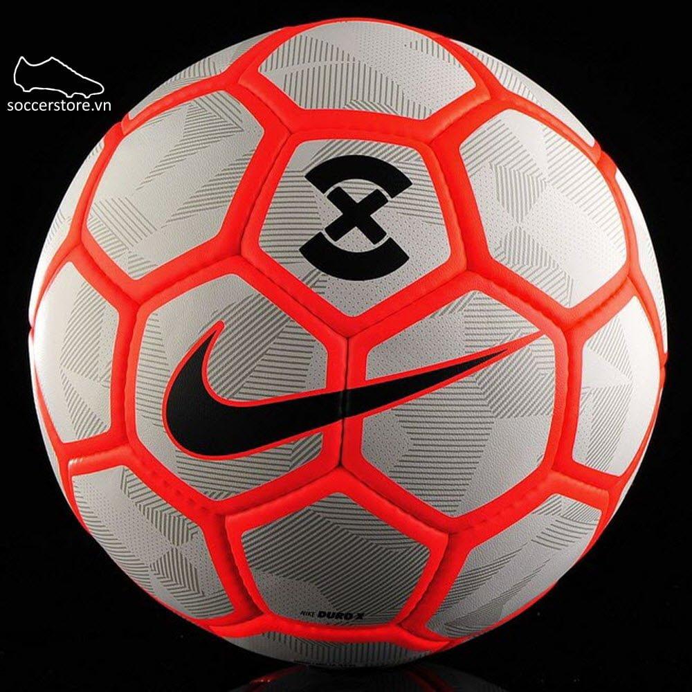 Bóng Nike Duro X- Pure Platinum/ Bright Crimson/ Black SC3161-043