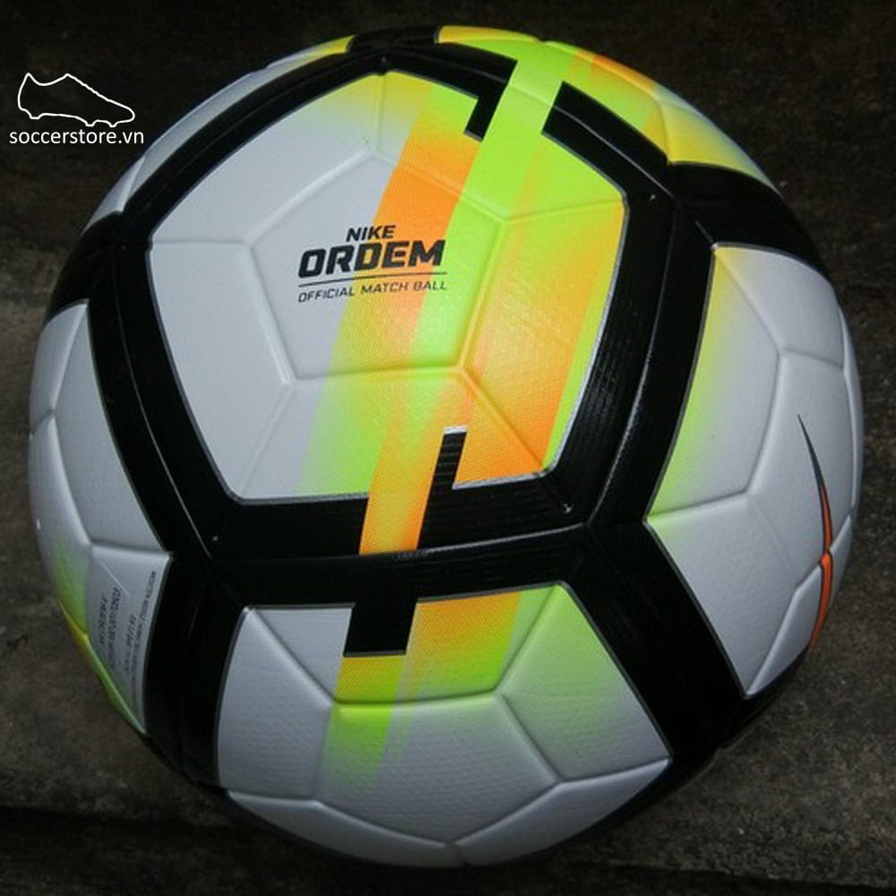 Bóng Nike Ordem V- White/ Laser Orange/ Black SC3128-100