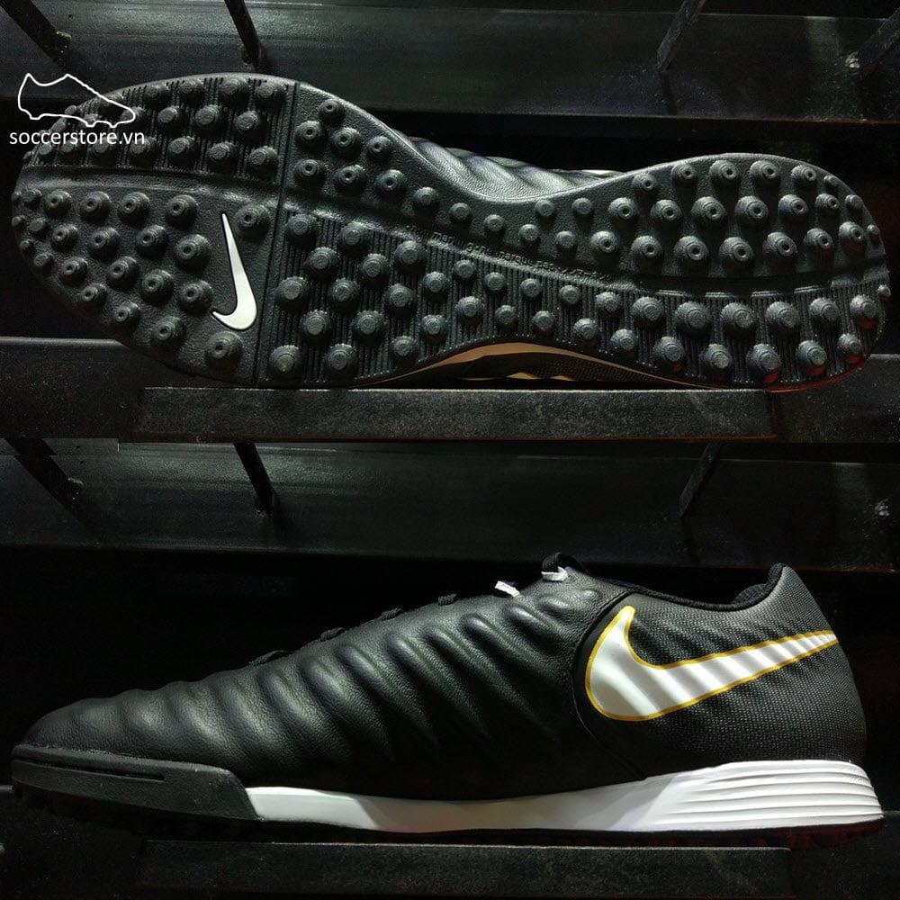 Nike TiempoX Ligera IV TF- Black/ White 897766-002