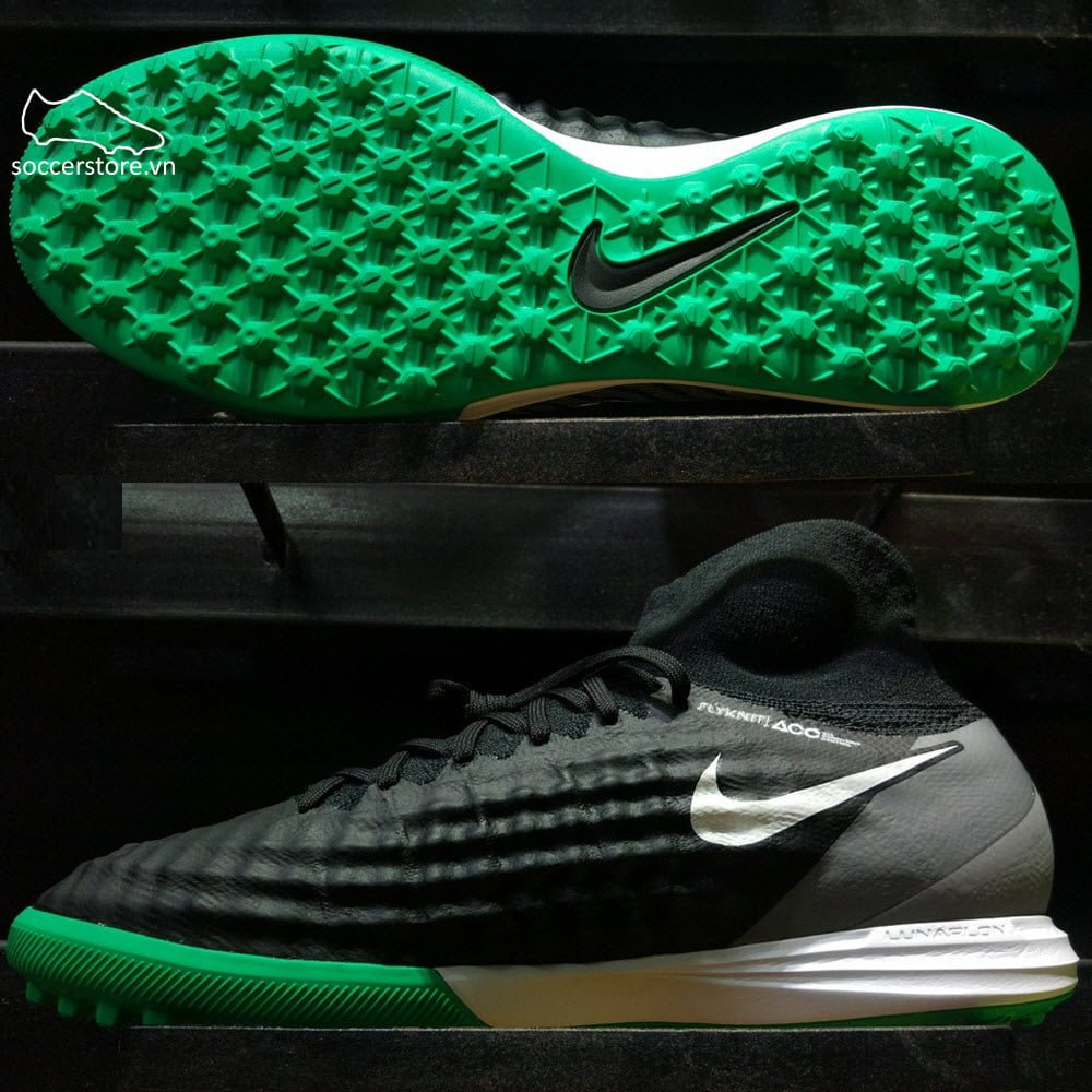 Nike MagistaX Proximo II DF TF- Black/ White/ Stadium Green 843958-002