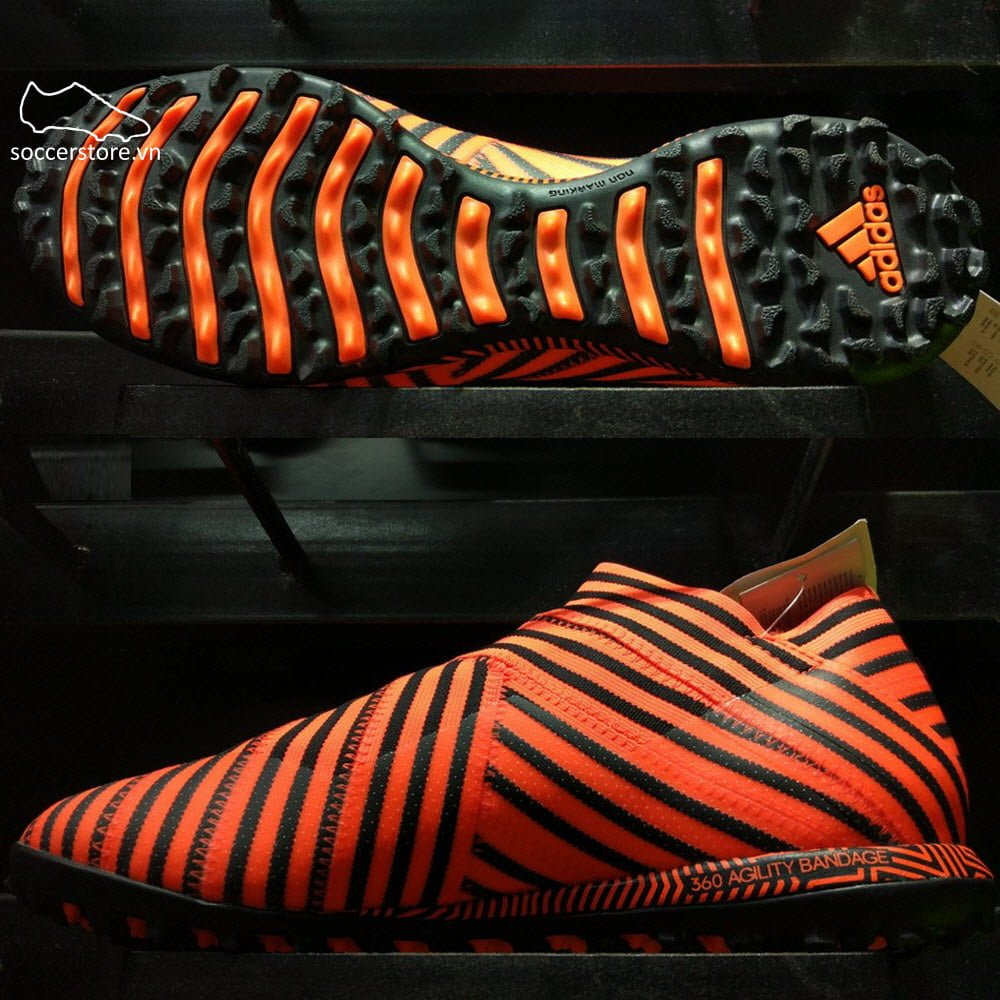 Adidas Nemeziz Tango 17+ 360 Agility TF- Solar Orange/ Core Black BY2304