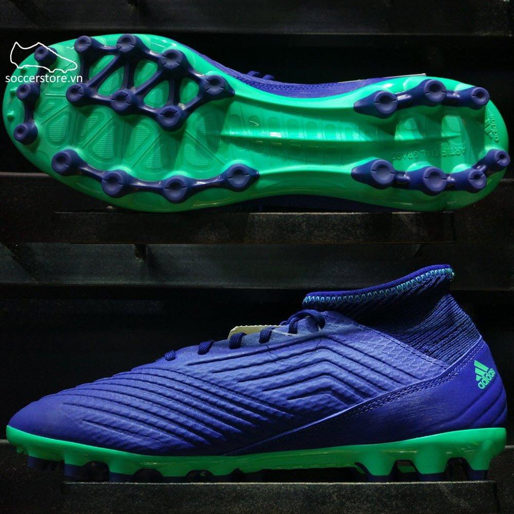 Adidas Predator 18.3 AG- Unity Ink/ Aero Green/ Hi-res Green CP9308